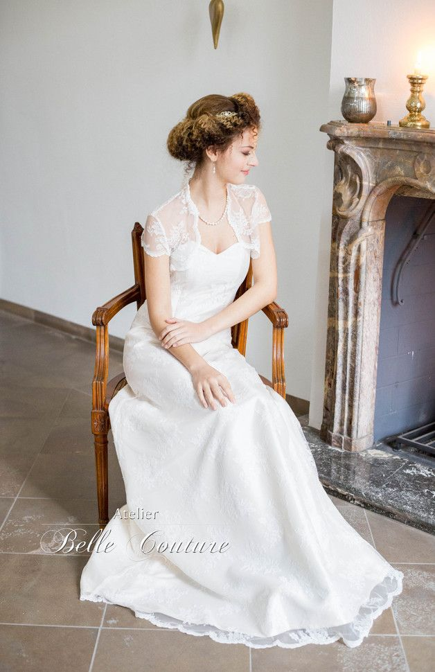 Vintage Brautkleid mit Spitze / vintage wedding dress with laces ...