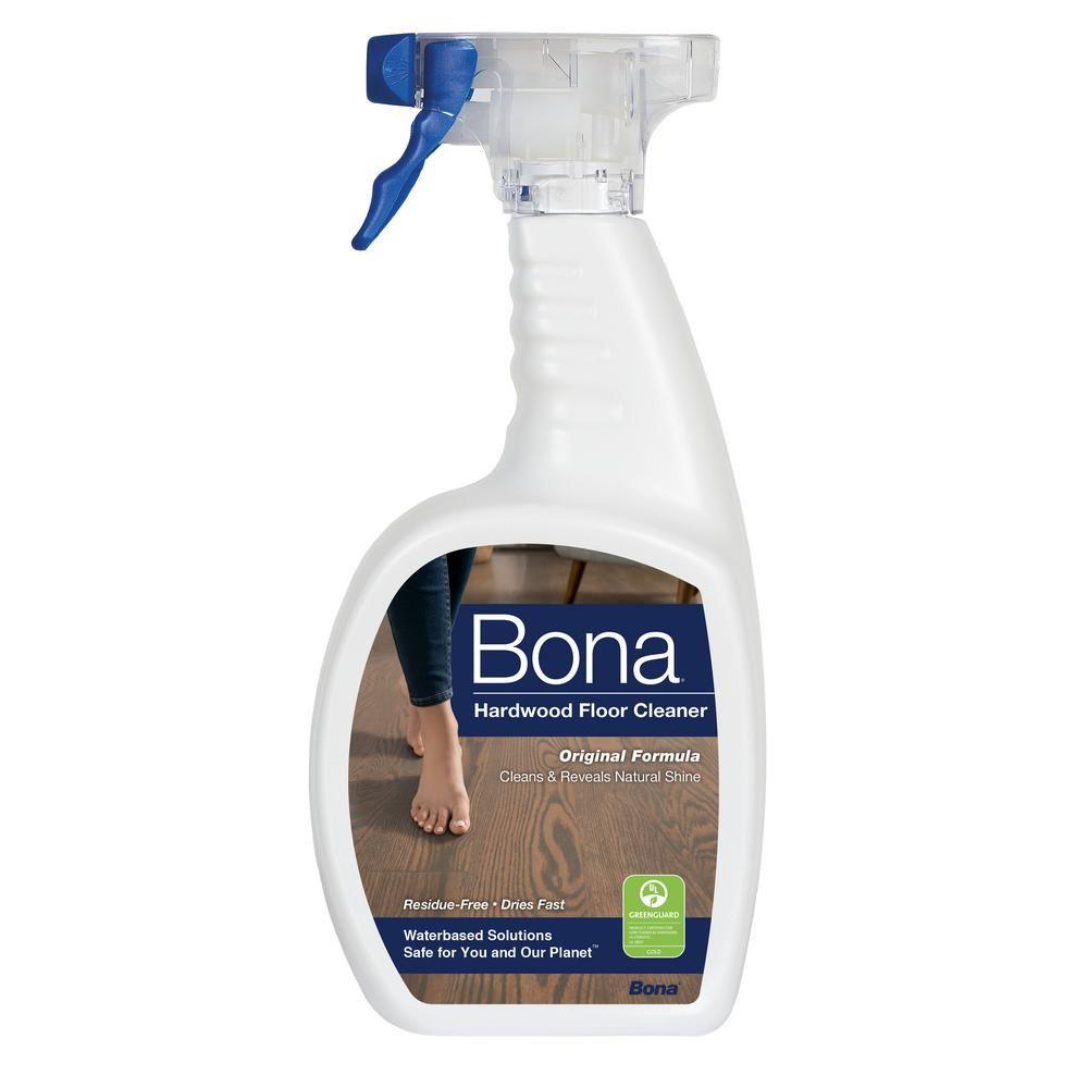 Bona 32 Oz Hardwood Cleaner Wm700051171 The Home Depot Floor Cleaner Hardwood Floor Cleaner Hardwood Floor Care