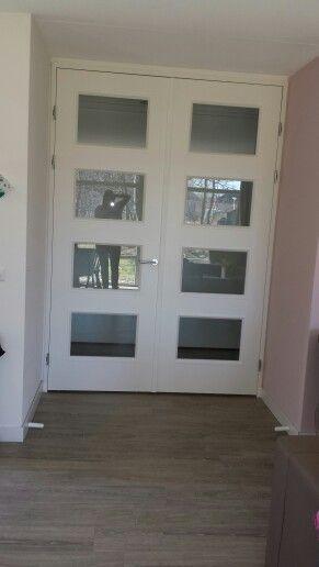 Dubbele deur woonkamer | Deuren | Pinterest