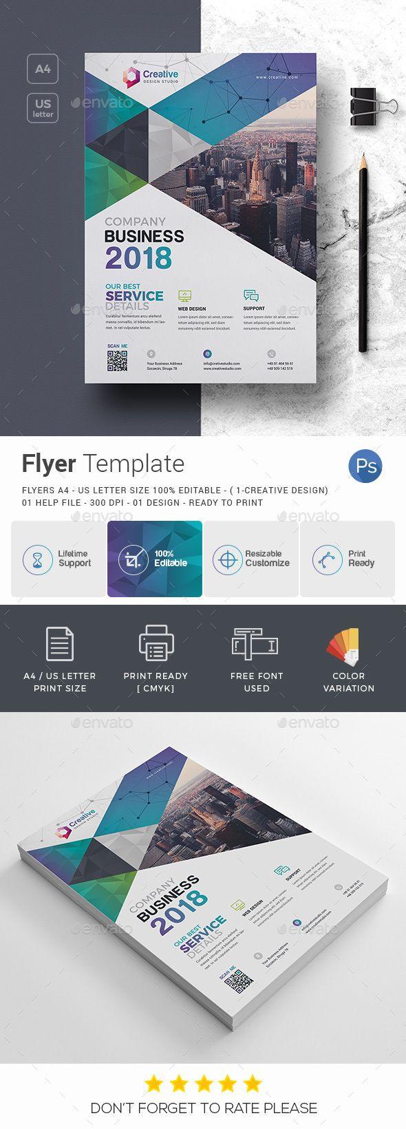 Business Flyer | Business flyer templates, Business flyers and Flyer ...