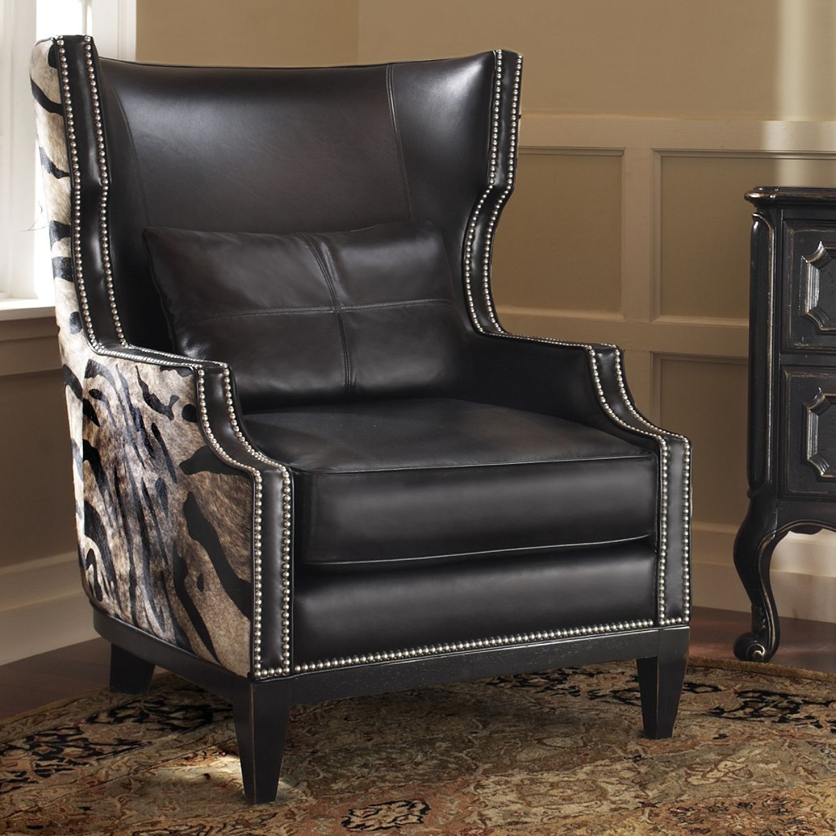 Pretoria Wingback Chair - Frontgate (Four-legged Luxury Chair ...