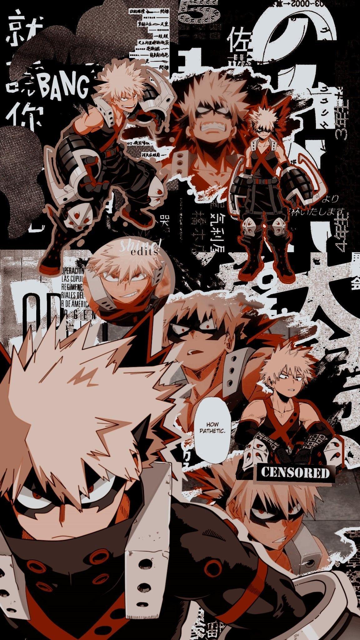 Bakugou Lockscreens Bnha Shinedlts On Twitter Bakugou Bnha Lockscreens Shinedlts Twitte En 2020 Fondo De Pantalla De Anime Fondo De Anime Wallpaper De Anime