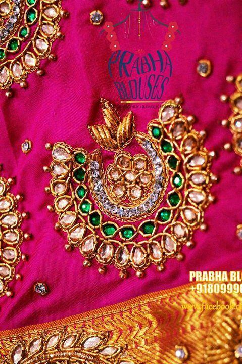 997e07b2809cf PRABHA BLOUSES Sari Blouse Designs