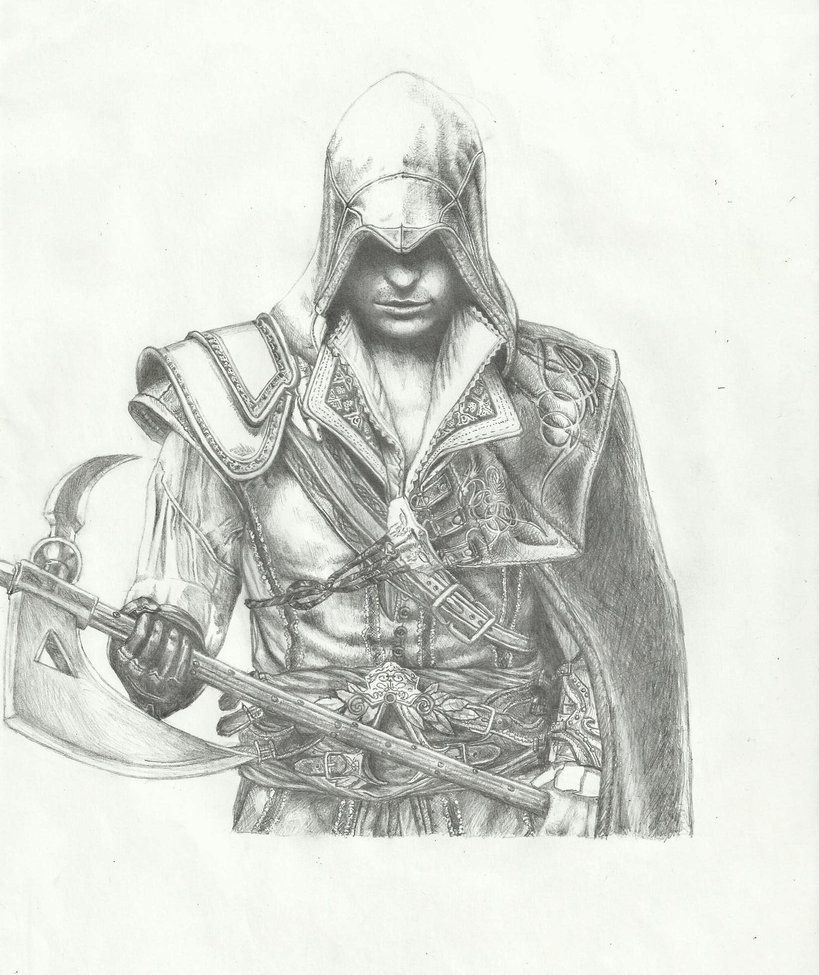 Ezio Auditore Da Firenze From Assassin S Creed Ii Gift For