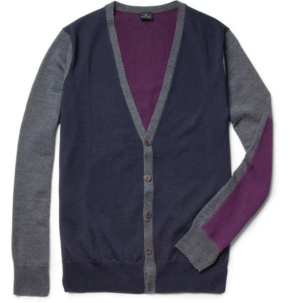PS by Paul Smith Fine-Knit Merino Wool Cardigan | The cardigan ...