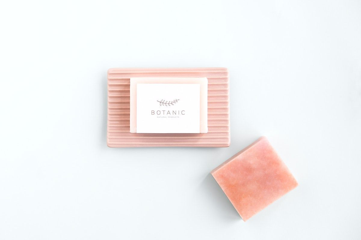 Download Premium Psd Of Organic Soap Bar With Label Mockup Design 1209854 Organic Bar Soap Organic Soap Bar Soap