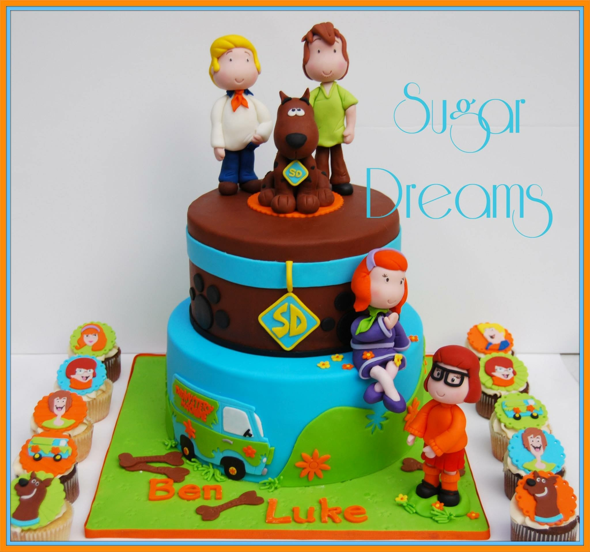 Pin by abby zimmerman on scooby doo scooby doo cake