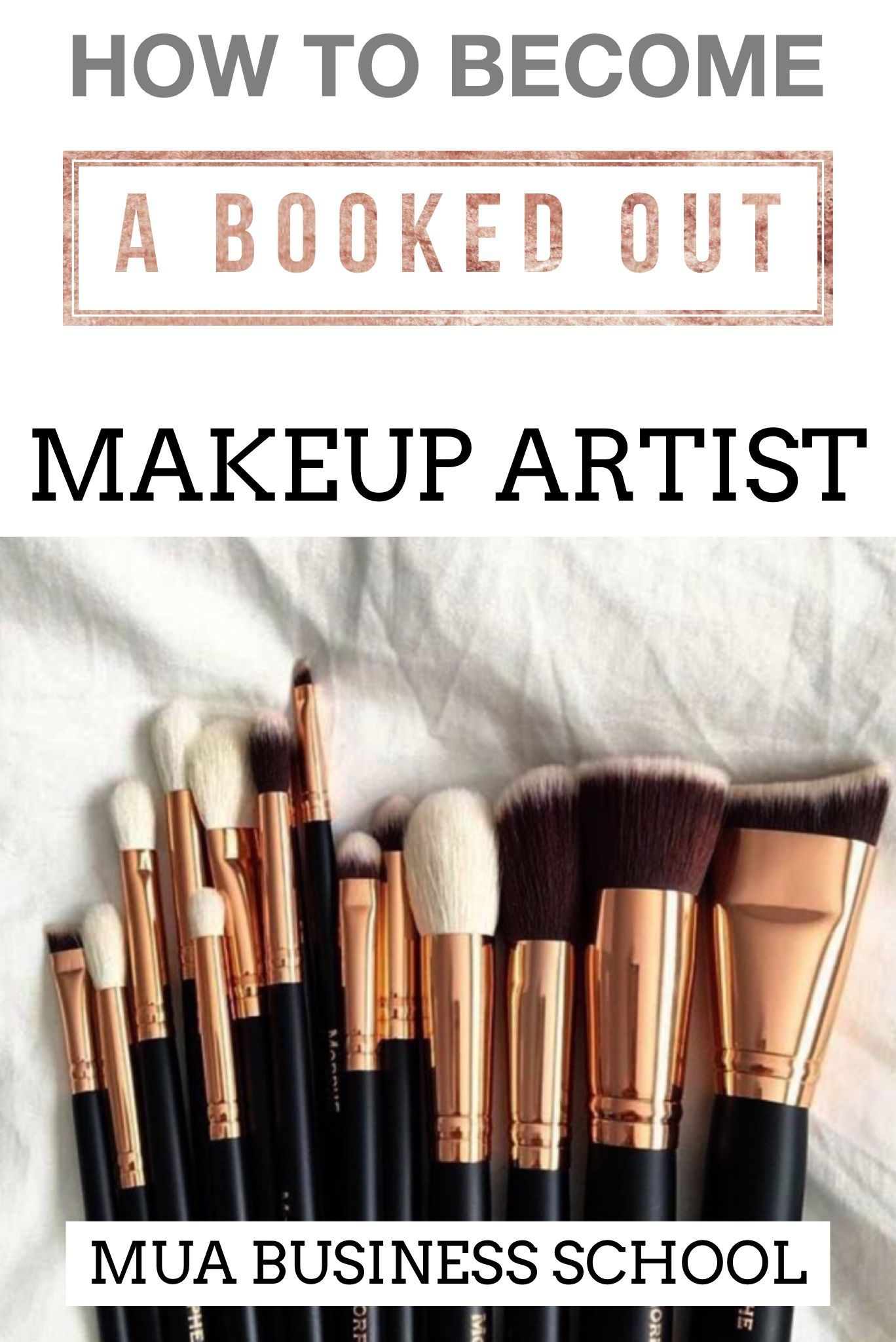 How To Be A Booked Out Makeup Artist FREE GUIDE Build Your