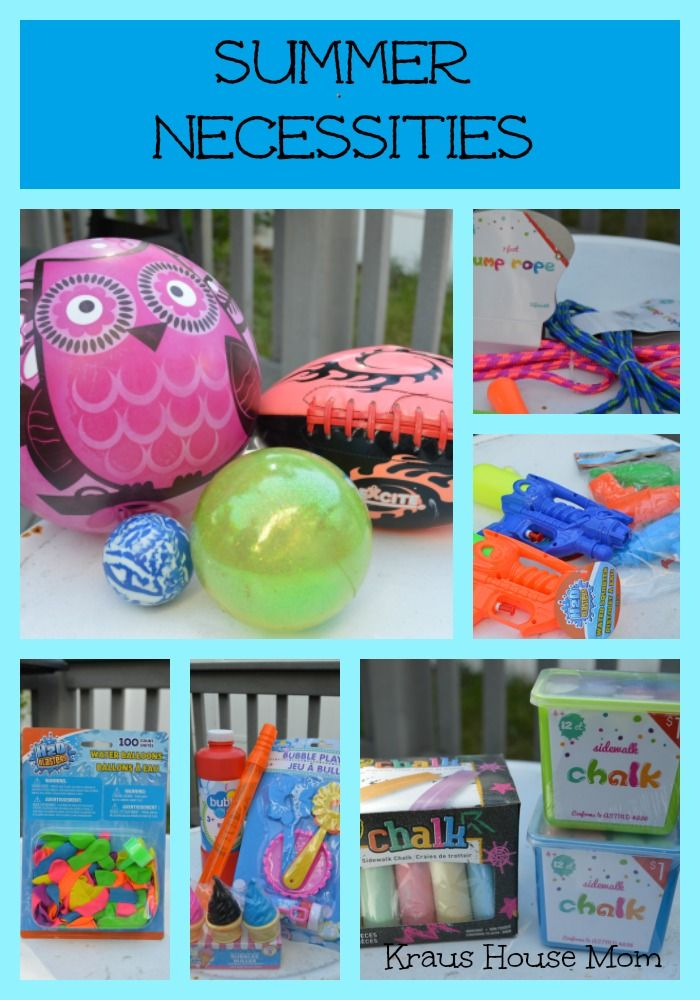 43e089154d2 Summer Necessities...Must Haves for Kids that are inexpensive ...
