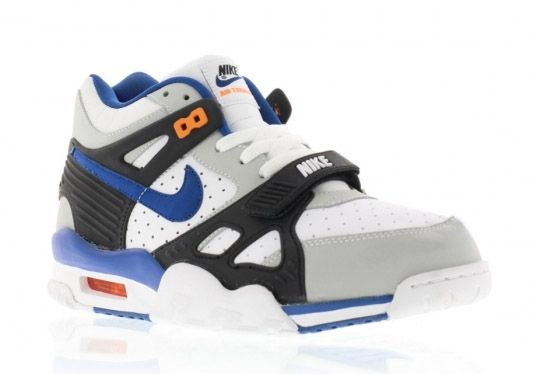 new style de1fa 8c88c ... Nike Air Trainer III - Pure Platinum Lyn Blue-Black-Total Orange ...