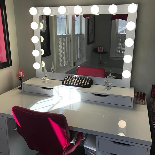 Hollywood iconic pro vanity mirror impressions vanity co