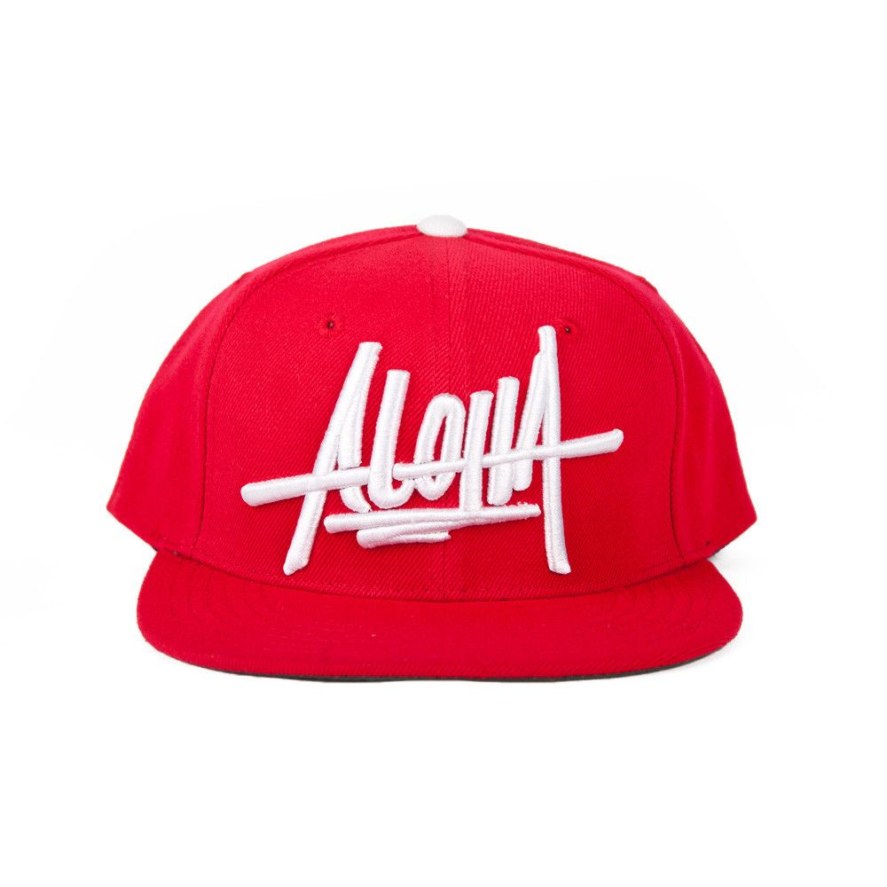a2e4aa01c84 ILLEST ALOHA SNAPBACK - RED from Fatlace