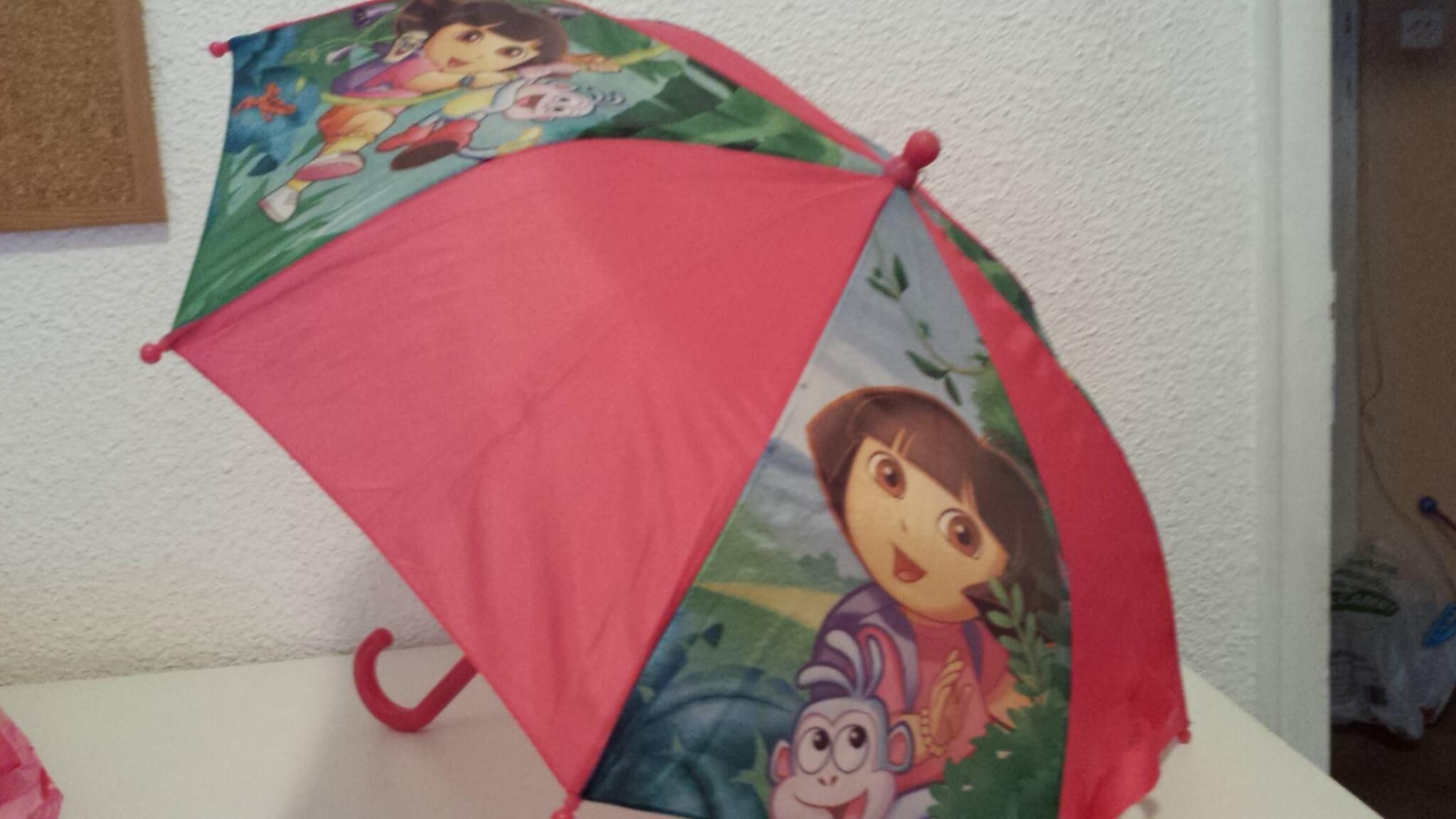 bajo costo descuento hasta 60% super calidad Paraguas Dora y Peppa Pig (3 a 5 años): 2 Paraguas niña, de ...