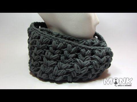 Loop Häkeln Mit Büschelmaschen Puff Stitch Youtube Nähen