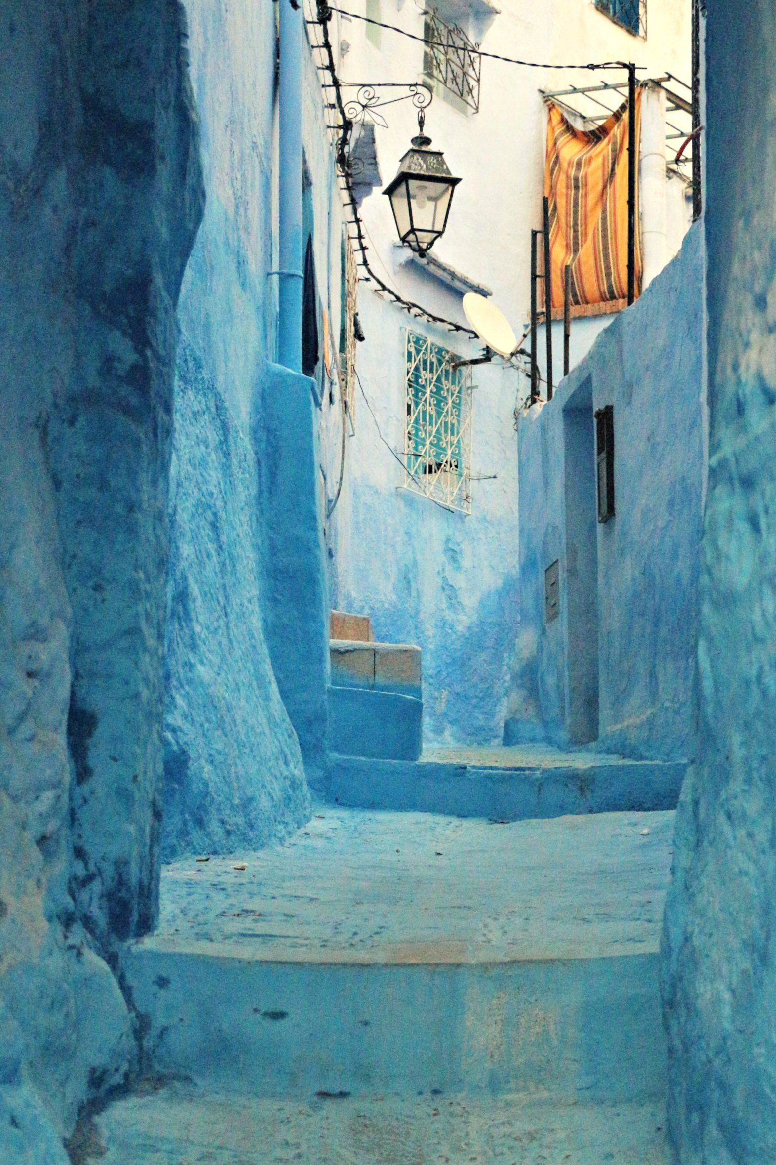 Chefchaouen Reisebericht Morocco Wanderlust And Beautiful Places - Old town morocco entirely blue