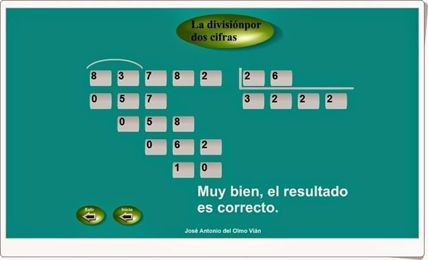 La División Por Dos Cifras Aplicación De Matemáticas De Primaria Divisiones De Dos Cifras Matematicas Primaria Matematicas