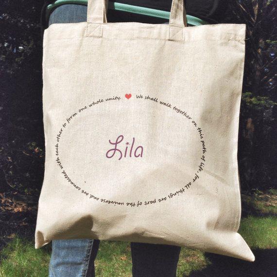 Montessori Quote Tote Custom by MOMtessoriLife on Etsy - great teacher gift idea!