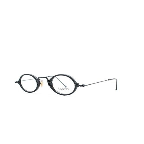 Lanvin 1219 7 Black Oval Eyeglasses Frame For Men and Women
