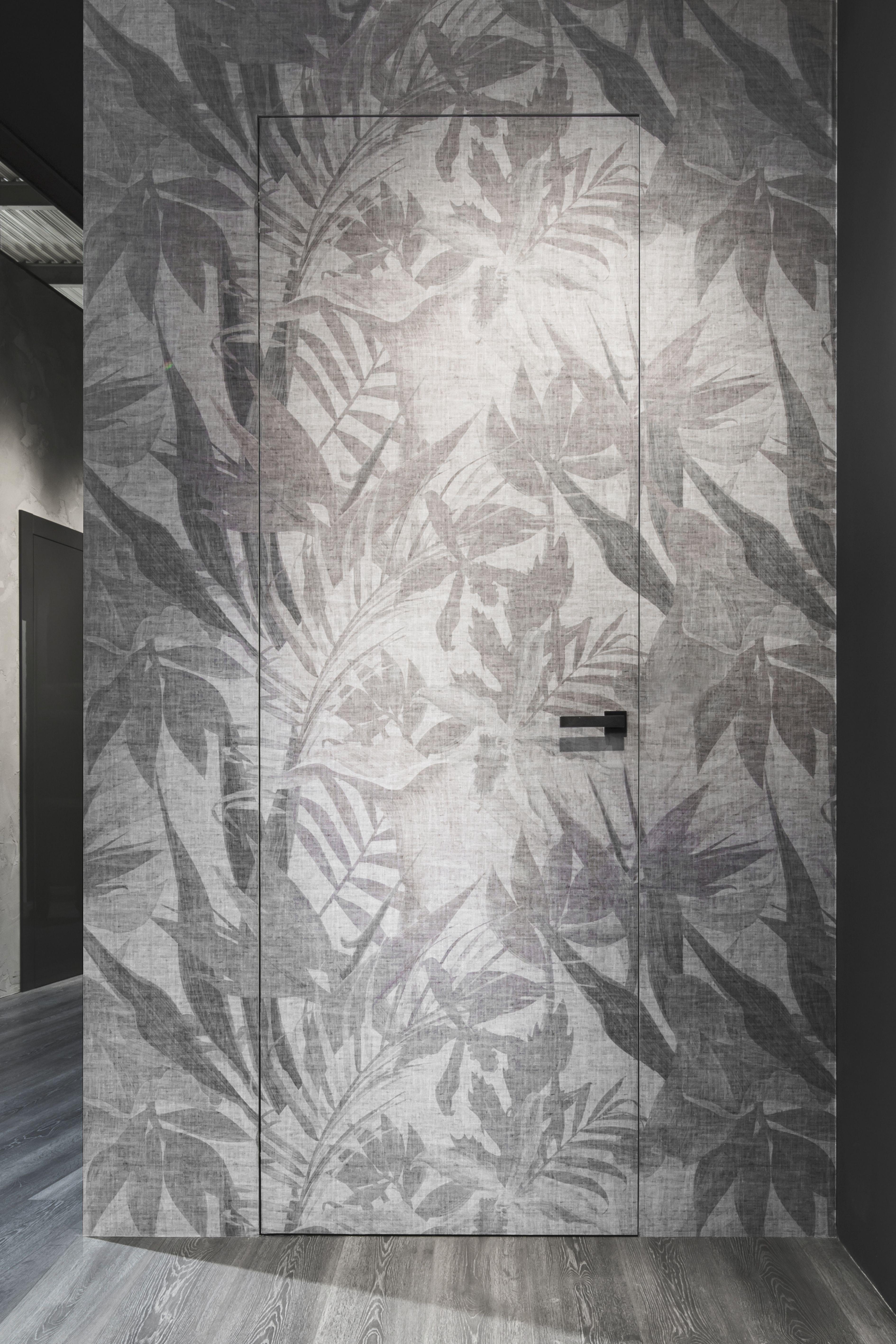 Porta da interno raso muro carta da parati Carta da