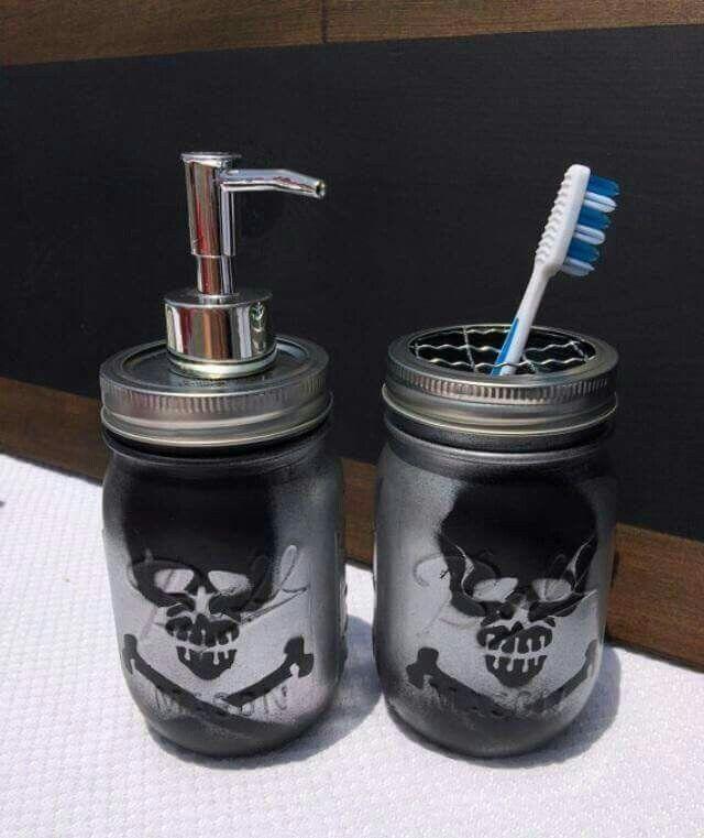 Skull Gothic Homewares Goth Toilet Brush Holder Skull Homewares Gothic Decor Skull Toilet Brush Holder Skull Homewares Halloween,