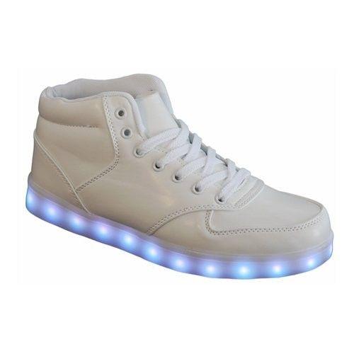 wholesale dealer ca8de 0805a Weiß LED Leuchtende Halbhohe Schuhe ,Schuhe haben insgesamt ...