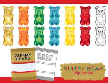 Clip Art Gummy Bear Clipart 1000 images about candy bear jar packaging on pinterest behance toys and hunters
