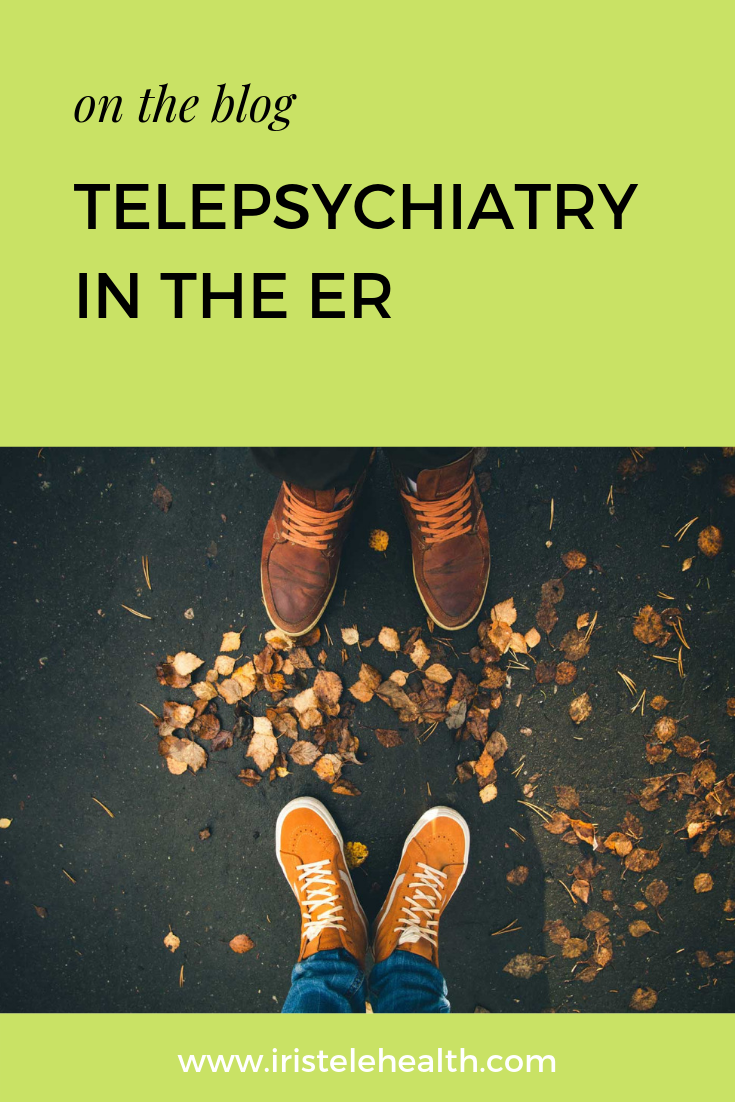 Telepsychiatry in the ER Psychiatry, Health care, Wellness