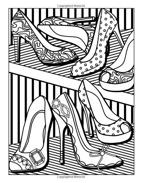 Girl Stuff 24 Totally Girly Coloring Pages Dani Kates 9781523936212 Amazon Com Books Coloring Pages Mandala Coloring Pages Fashion Coloring Book