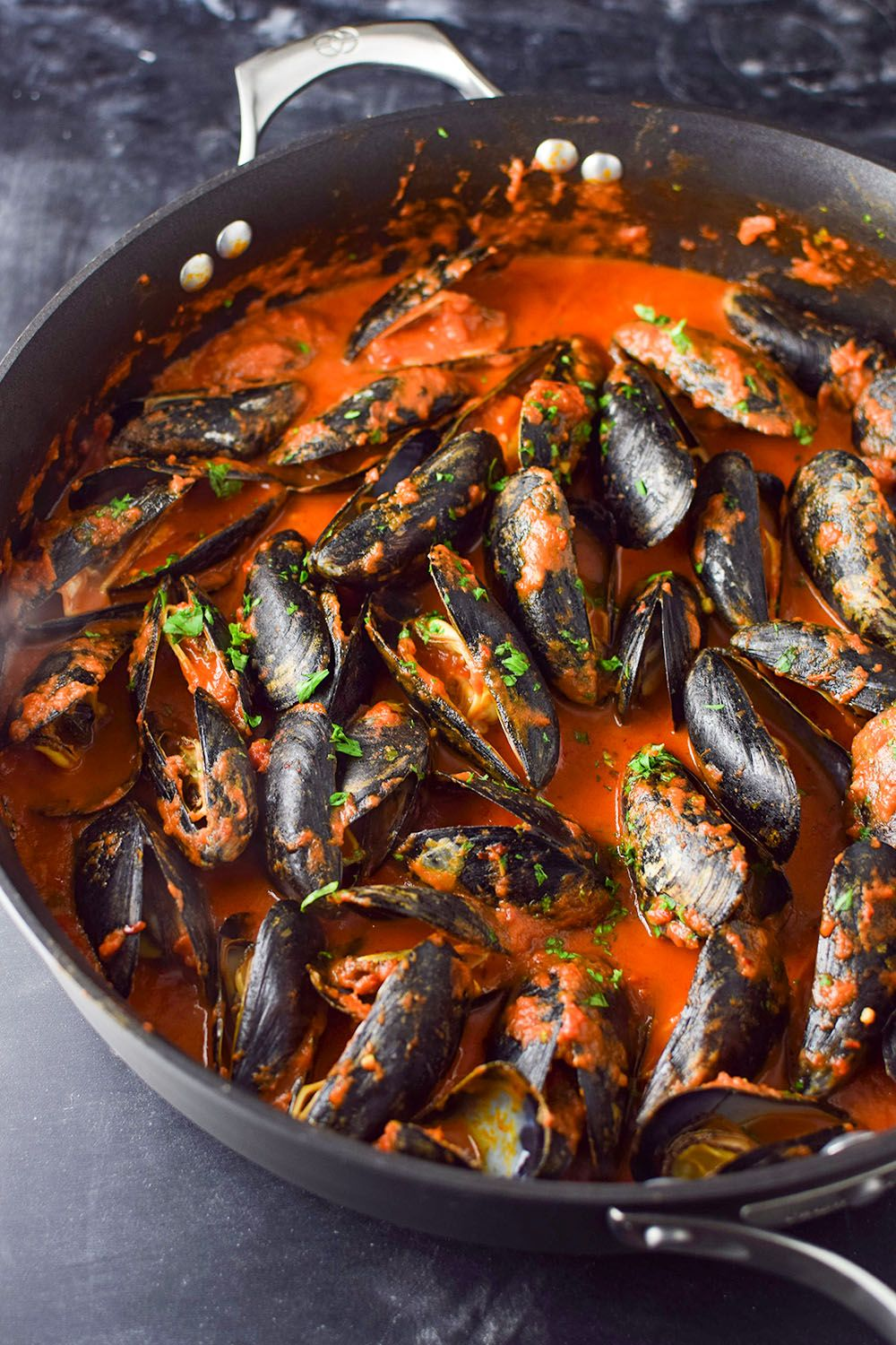 Photo of Mussels in Red Sauce Recipe