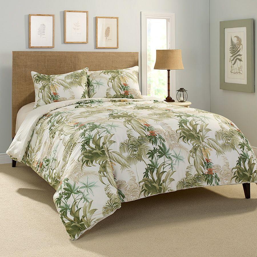 Tommy Bahama Rainforest Tropical Comforter Set From Beddingstyle Com Tropical Bedrooms Comforter Sets Tropical Bedding
