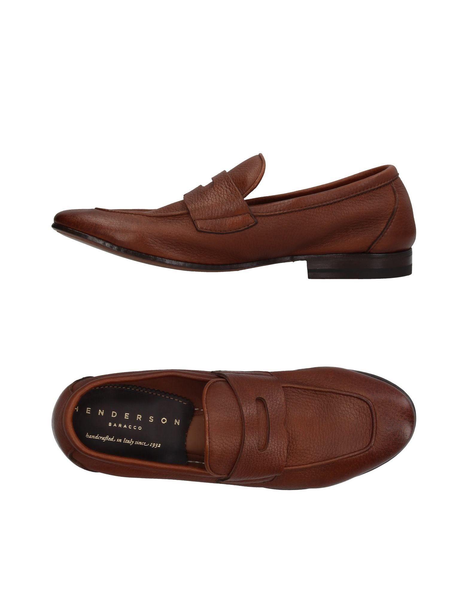 HENDERSON BARACCO Cowhide loafers CyojmKUb5