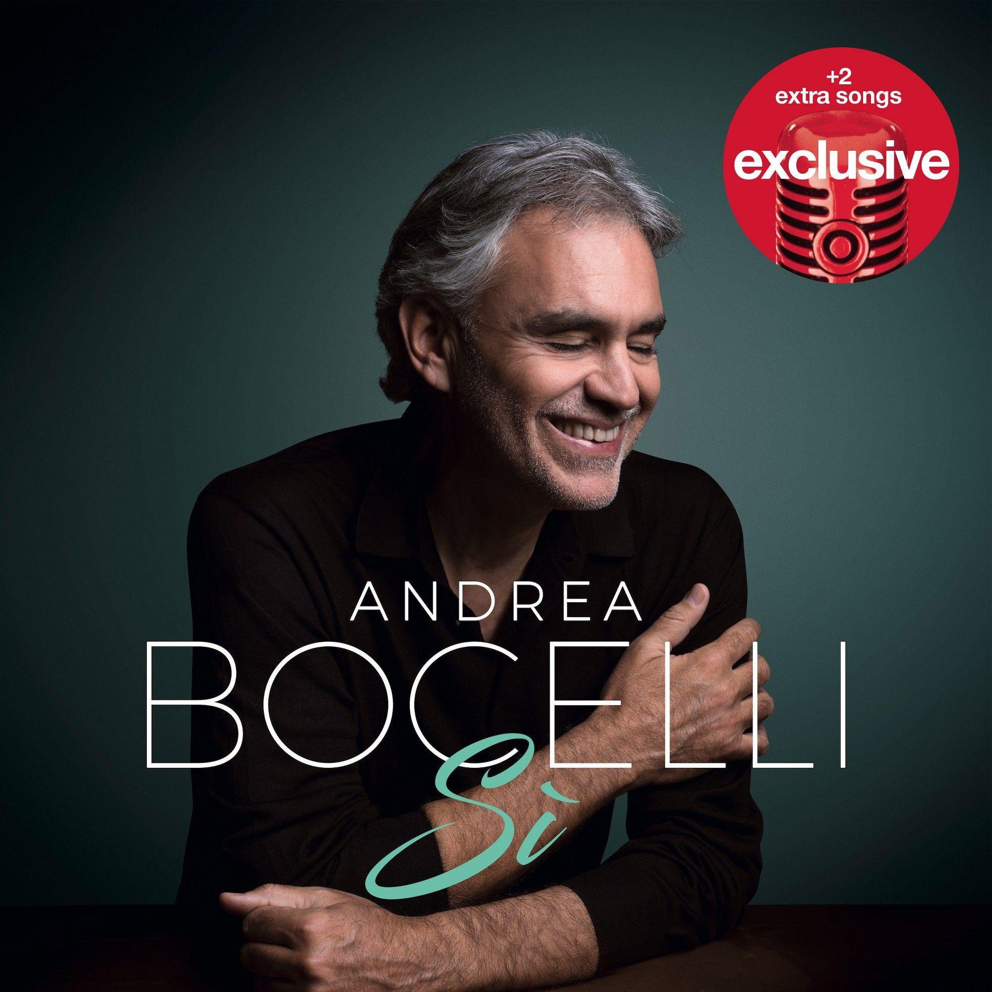 Andrea Bocelli Si Deluxe Target Exclusive Target Exclusive