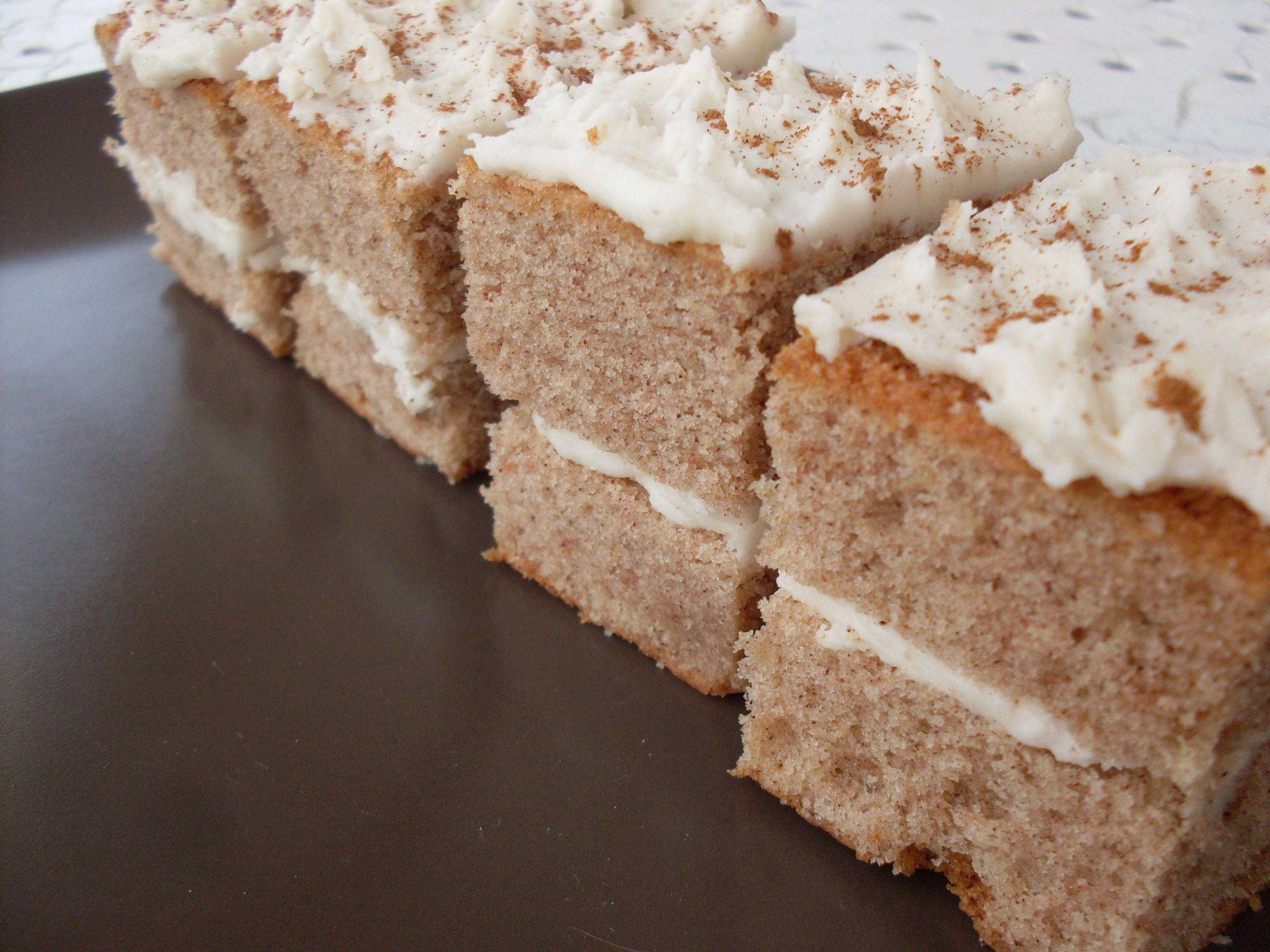 Cinnamon cake cinnamon cake krispie treats desserts