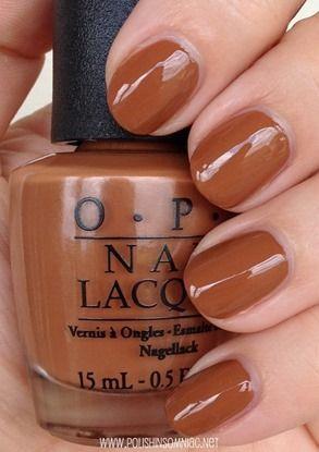 Opi A Piers To Be Tan Warm Autumn Nail Polish Warm Autumn Nail Polish Nail Polish Nails