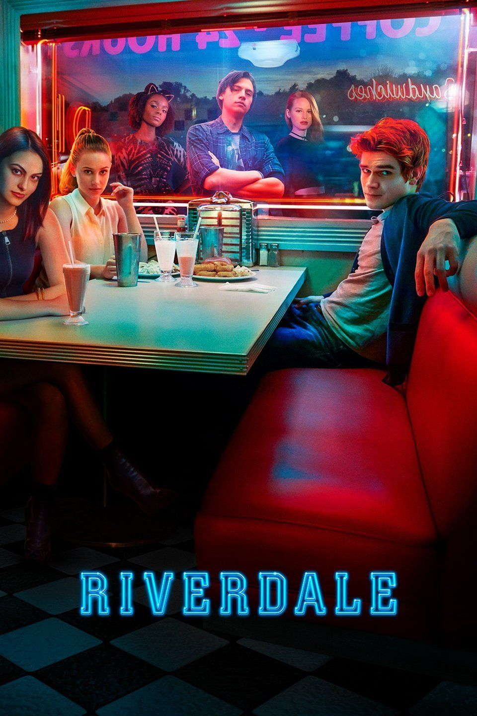 I love the whole neon aesthetic of the show Riverdale