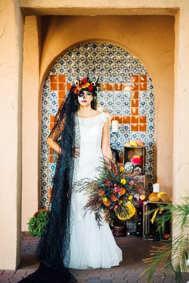 DAY OF THE DEAD WEDDING IDEAS | Offbeat bride | Pinterest | Wedding ...