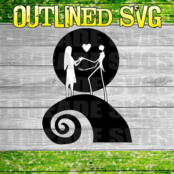 Nightmare Before Christmas Svg Cut File For Use With The