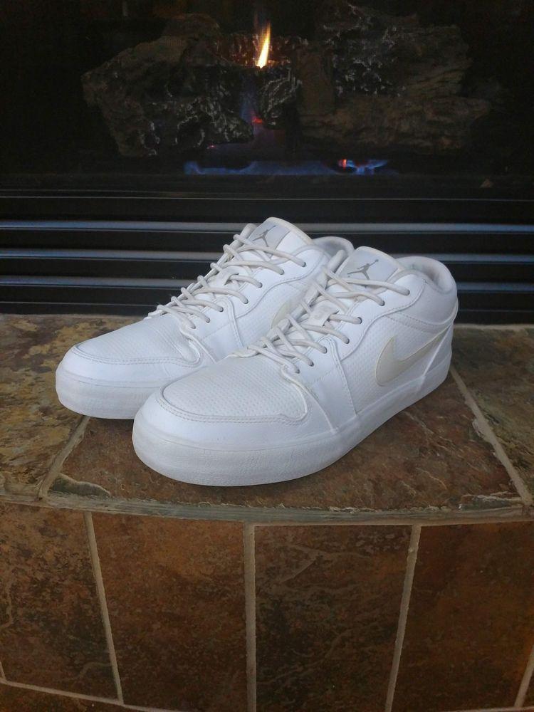 ddf7fd8afa6 Mens Nike Air Jordans Sneakers Shoes AJ V2 Low White Size US 11 #fashion  #clothing #shoes #accessories #mensshoes #athleticshoes (ebay link)
