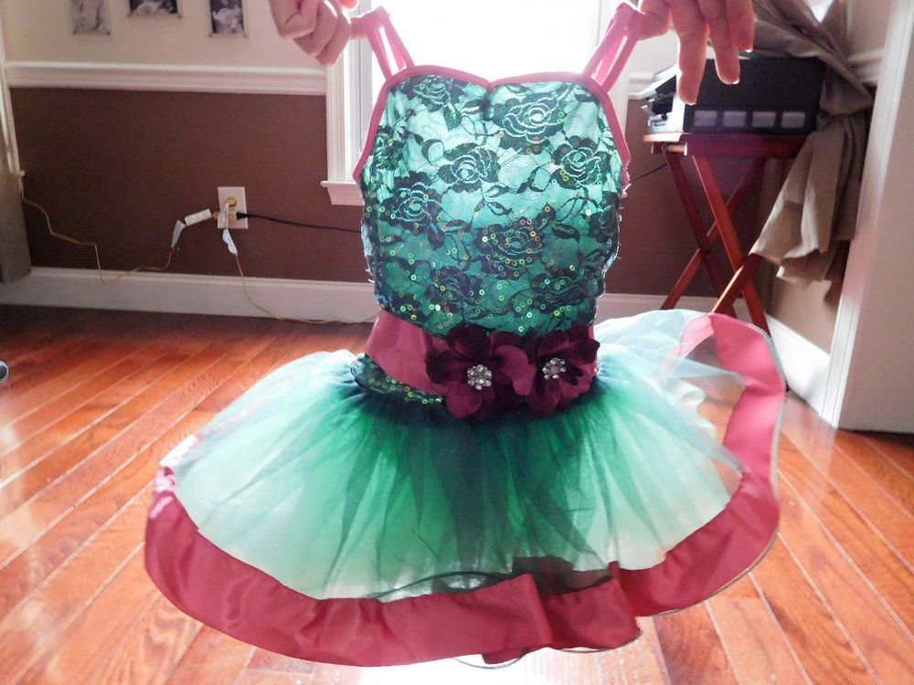 74d8790af Weissman sequin Ballet Dress Dance Competition Costume IC 7 8 Child ...