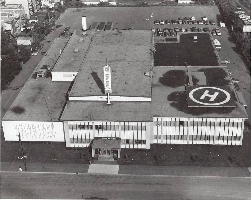 Montreal 1974 Cfcf Studios At 405 Ogilvy Ave Montreal Quebec