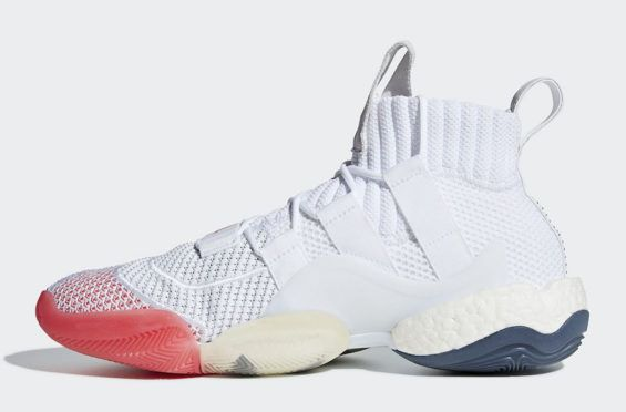 finest selection 88da6 76ad8 Release Date adidas Crazy BYW X Cloud White A new colorway of the adidas  Crazy