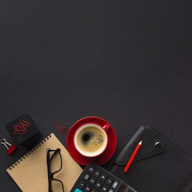 Photo of Download Flat Lay Of Work Desk With Calculator And Agenda fo…