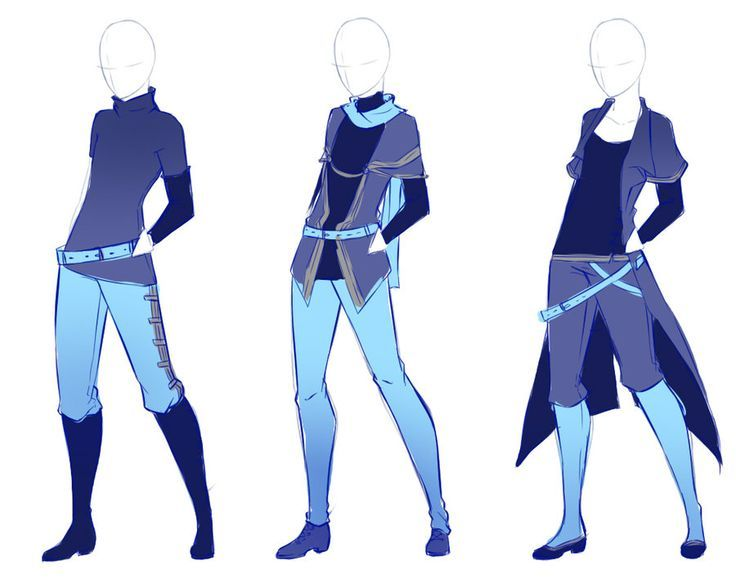 25 best ideas about clothing on drawing | Anime outfits ...