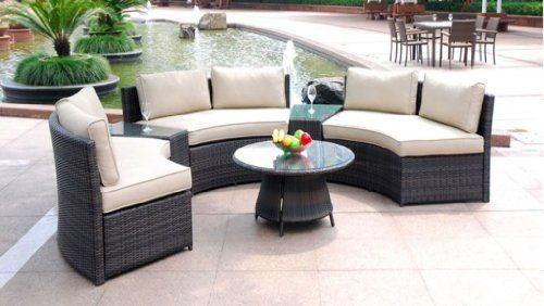Sectional Patio Furniture Outdoor, Curved Patio Furniture Covers