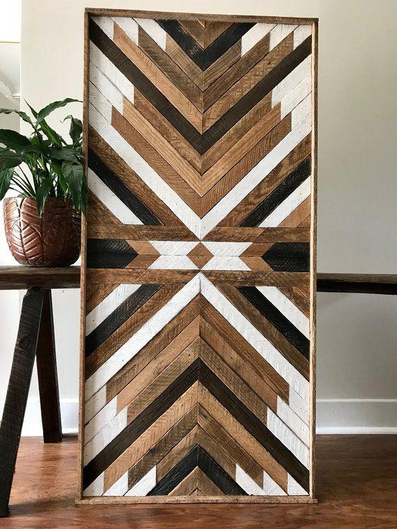 Reclaimed Wood Wall Art Wood Wall Art Reclaimed Wood Wood Etsy