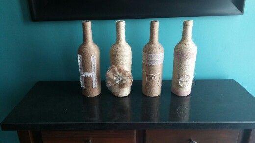 Bottle diy Home