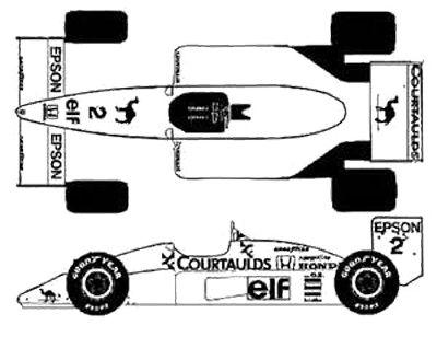 Lotus GP F1 Car Coloring Page