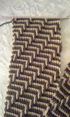 Crochet Stitches Tunisian #tunisiancrochet