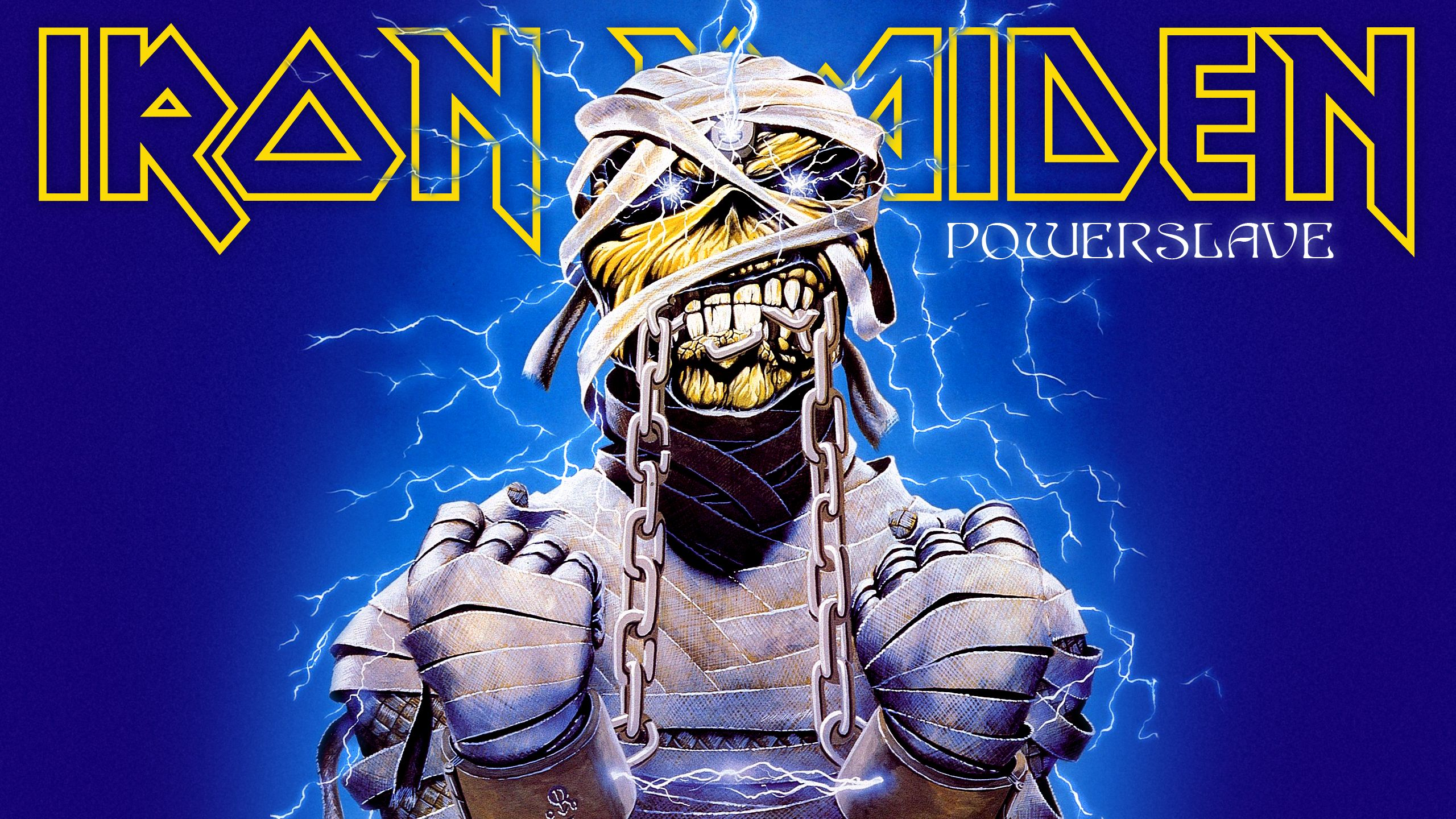 Iron Maiden - Powerslave | Iron maiden, Afiches, Pantalla