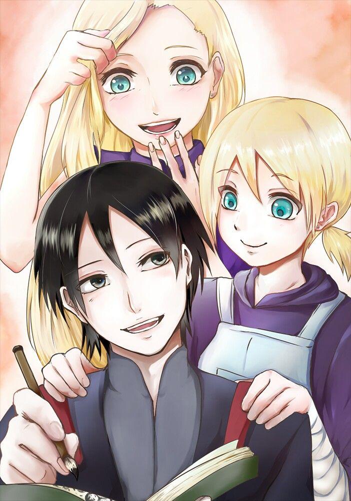 Keluarga Sai,Ino,dan inojin Kartun, Desain karakter